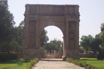 Arco de Diocleciano, Sbeitla, Túnez