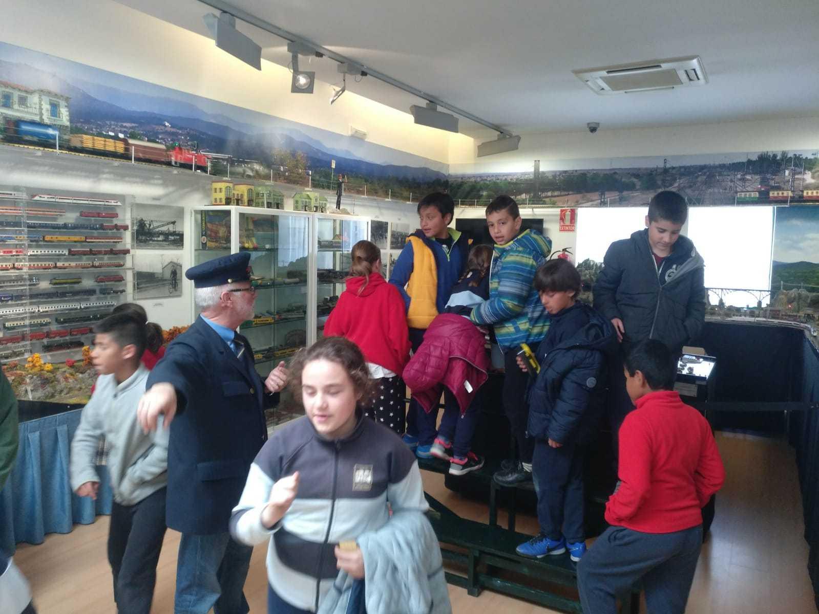 2019_03_15_Cuarto B visita el Museo del Ferrocarril de Las Matas_CEIP FDLR_Las Rozas 5