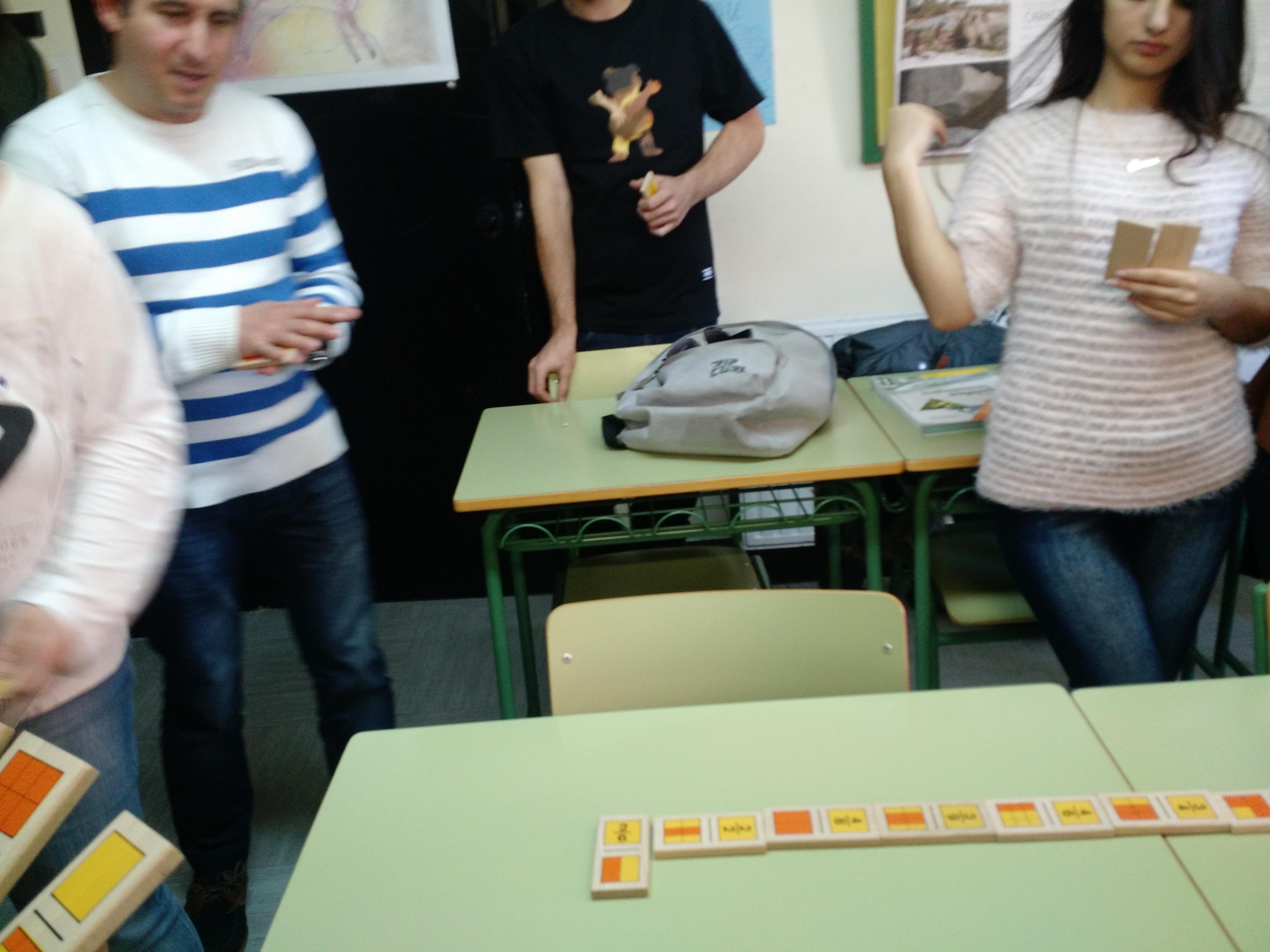 Jugando al dominó (fracciones) 3