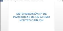 Determinación nº partículas