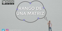 Matrices 6 - Rango de una matriz