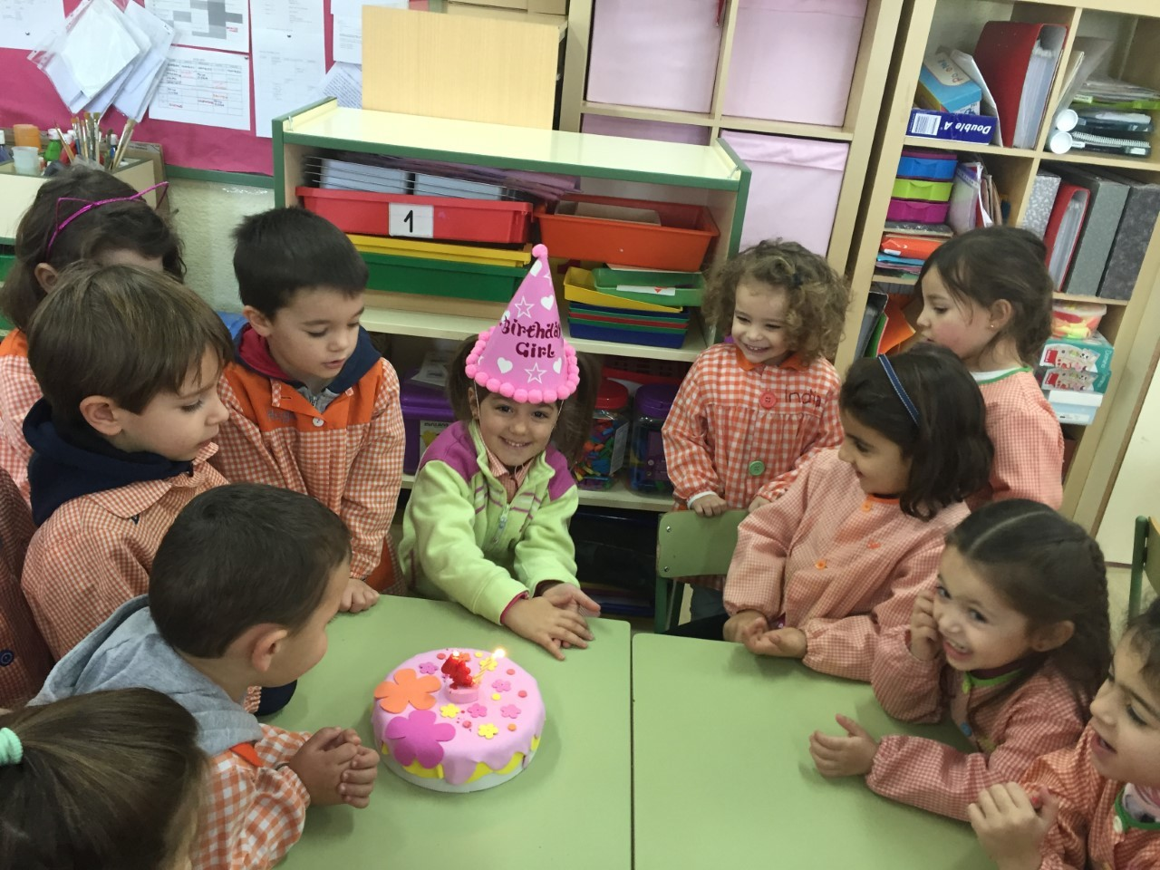 Cumpleaños Isabel 5