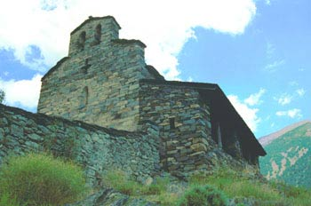 Iglesia de Sant Cerni de Nagol, Principado de Andorra