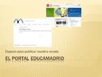 Los primeros pasos en el Portal EducaMadrid