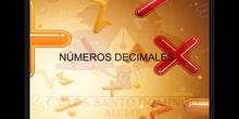 SECUNDARIA 2ºMATEMÁTICASNÚMEROS DECIMALES 2