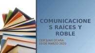 TUTORIAL COMUNICACIONES RAICES ROBLE