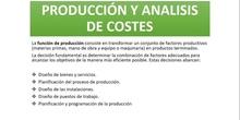 TEMA 6: PRODUCCIÓN Y ANÁLISIS DE COSTES