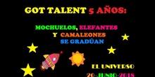 Graduación Ed. Infantil 5º años - Got Talent -El Universo