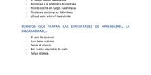 APPS Y LIBROS CUENTOS PARA TRABAJAR CON LOS ALUMNOS (TEA)