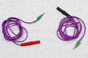 Cables conexión corriente galvánica