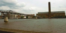 Tate Modern y Millenium Bridge, Londres