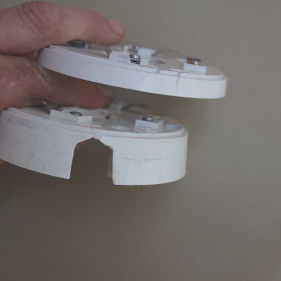 Zócalos para detectores de humo