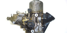 Carburador de difusor variable. Detalle del mecanismo de arranqu