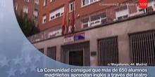 Más de 650 alumnos madrileños aprenden teatro en inglés