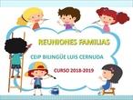 REUNIÓN FAMILIAS 4º 2018-2019 1er TRIMESTRE