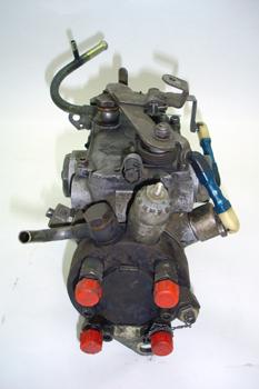 Bomba inyectora DPC. Vista cabezal de alta presión