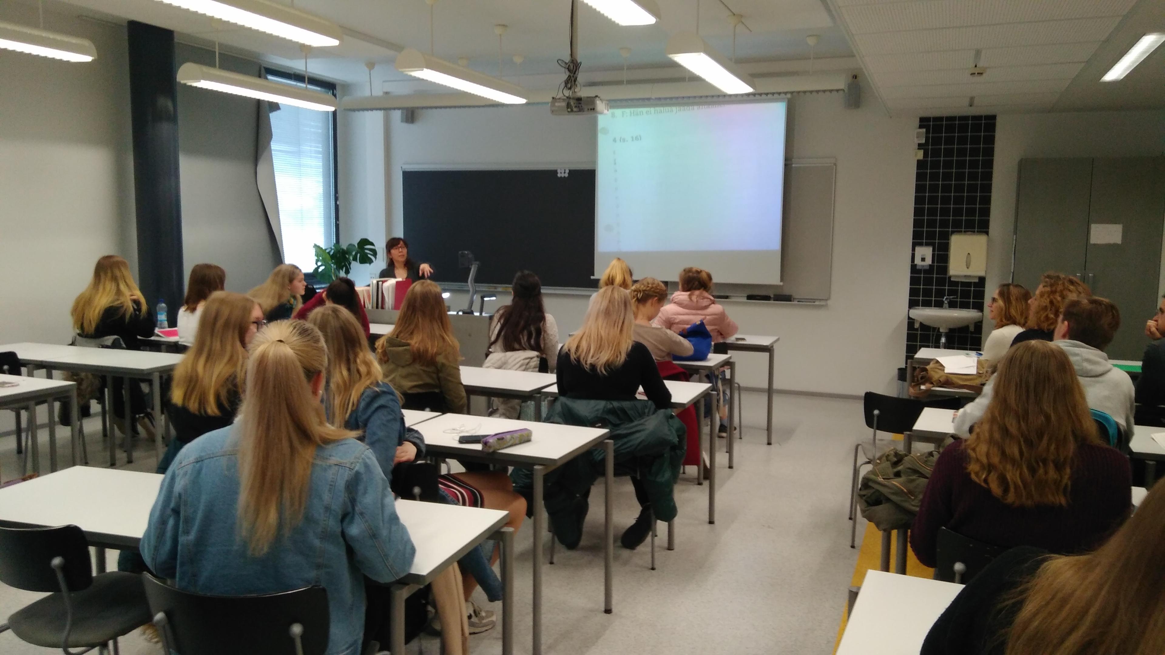 Tikkurilan Lukio. Helsinki (Finlandia) Erasmus + 2018 29