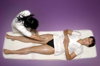 Masaje y mascarilla corporal: realización de masaje