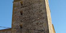 Torre de iglesia en Pinilla del Valle