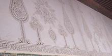 Decoración en paredes, Kairouan, Túnez
