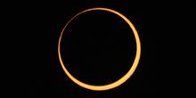 Fase central del eclipse anular 10