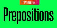 1º English Prepositions