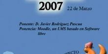 Boadinux 2007 - Moodle, un LMS basado en software libre.