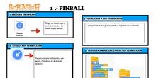 Creación de videojuegos con Scratch 3.0 (Pin-ball, pac-man...) Fichas-Guía