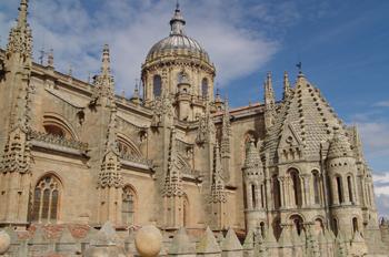 Cimborrio y cúpula, Catedral Nueva de Salamanca, Castilla y León