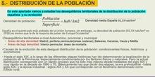 VIDEO APARTADO 5 LA DISTRIBUCIÓN DE LA POBLACIÓN ESPAÑOLA. DESEQUILIBRIOS TERRITORIALES