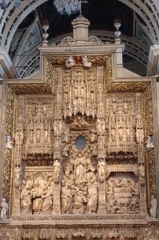 Retablo Mayor, Basílica del Pilar