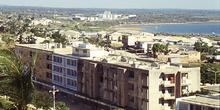 Ciudad baja y polígono industrial al fondo, Nacala, Mozambique