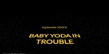 "Arts project Stop motion: ""Baby Yoda in trouble"""