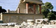 Pórtico norte del Palacio de Cnosos, Creta