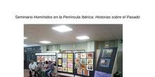Exposición Trabajos Seminario Homínidos