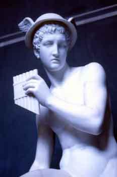 Estatua del dios Mercurio