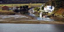 Acceso a la ría de Tinamayor por el puerto de Bustio, Principado