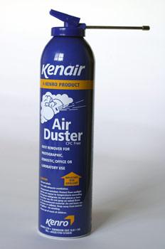 Botella de aire a presión