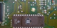 Calculador de inyección. Detalle de EPROM