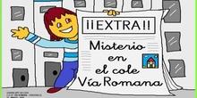 Misterio en el colegio Vïa Romana