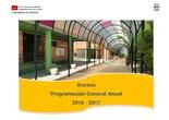 Programación General Anual_Anexos_del CEIP Fernando de los Ríos de Las Rozas de Madrid. Curso 2016-2017