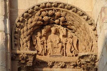Detalle Puerta del Obispo, Catedral de Zamora, Castilla y León