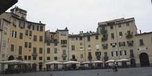 Detalle de la Plaza del Anfiteatro, Lucca