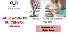 """Exposición de la experiencia del CEIP Navalazarza en la segunda sesión formativa del Proyecto """"Ayuda a la dislexia"""""""