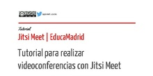 Tutorial Jitsi Meet - EducaMadrid