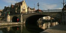 Puente de San Miguel, Gante, Bélgica