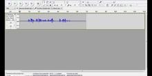 Creación de un podcast con el programa Audacity