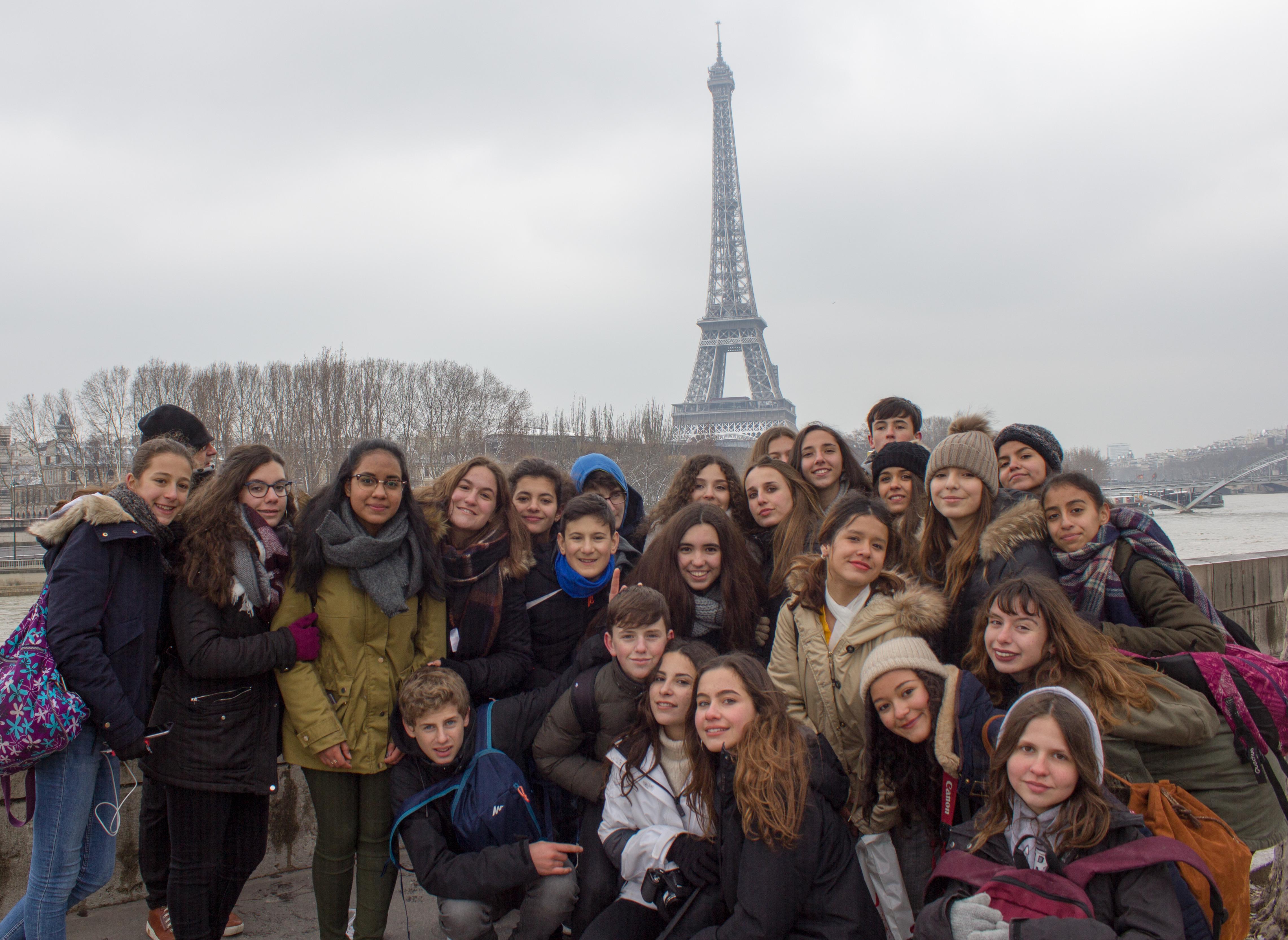 mas fotos intercambio con francia 2018