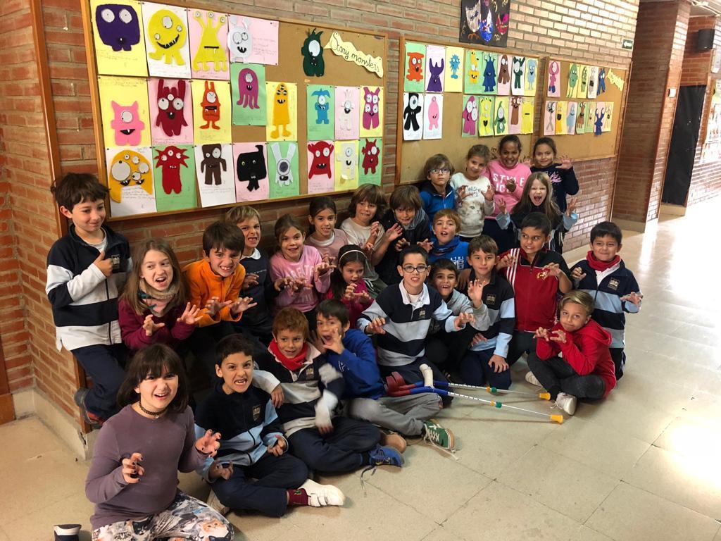 2018_20_30_Tercero disfraza el aula de Halloween...CEIP FDLR_Las Rozas 1