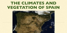 The climates and vegetation of Spain